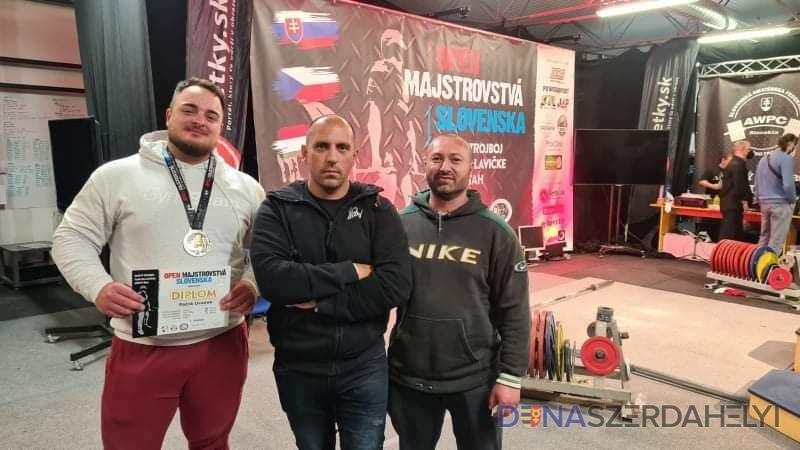 Új szlovák csúccsal mutatkozott be a fiatal erőemelő