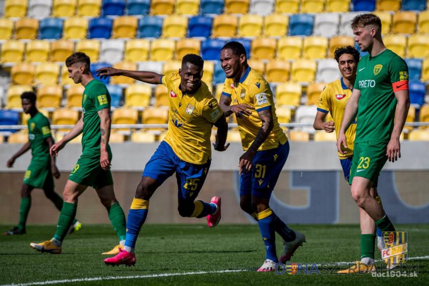 Újratöltve: Taiwo győztes gólja a Zsolna ellen