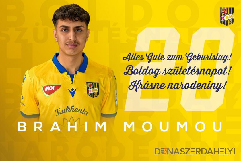 Boldog szülinapot, Brahim!