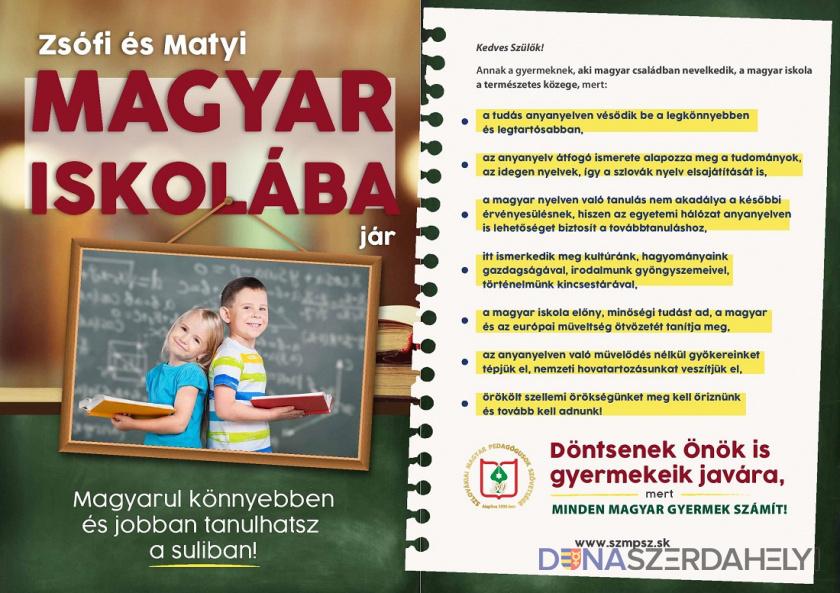 Fekete Irén: az anyanyelvű oktatás választása gyermekeink részére a legnagyobb ajándék