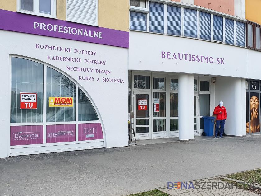 Dunaszerdahelyi antigéntesztelő helyek és nyitvatartásuk