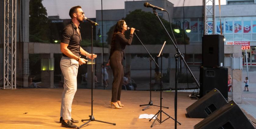 Rockslágerek a színpadon a Kosár házaspártól - videóval