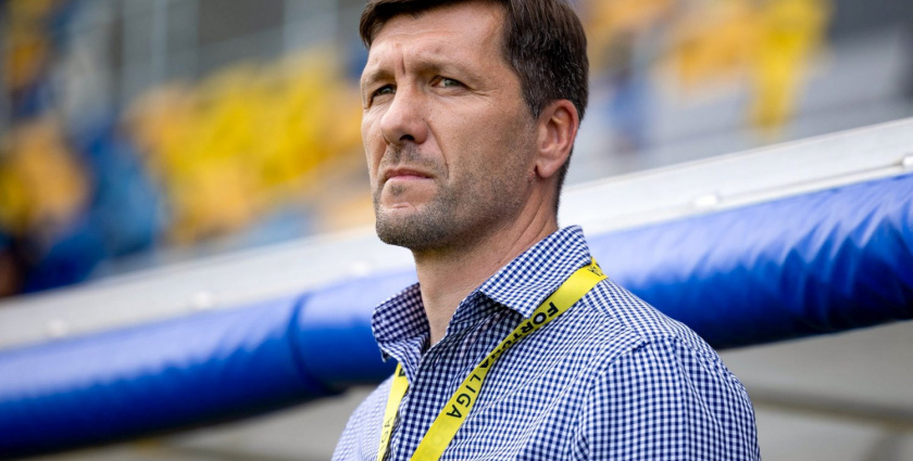 Videó: Németh Antal a Slovan-DAC rangadó előtt
