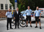 A városi rendőrök már kerékpáron is szolgálatot teljesítenek