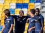 Videó: Meccs előtti edzés a MOL Arénában