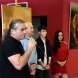 Gavar Ségár képkiállítása a Csaplár Benedek Városi Művelődési Központban